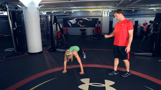 UA Performance Training Tip - Walking Lateral Plank - image 6 from the video