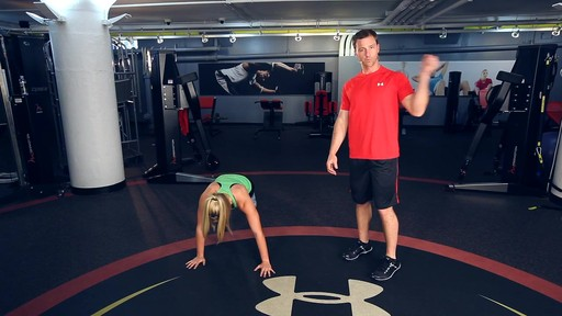 UA Performance Training Tip - Walking Lateral Plank - image 9 from the video