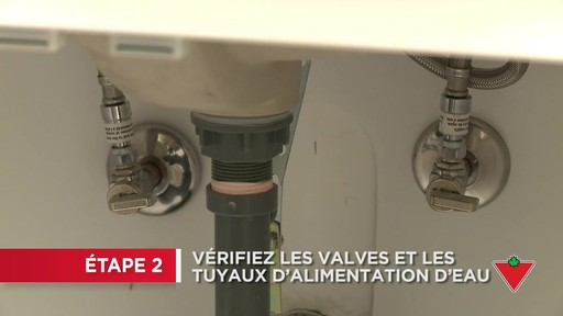 Comment remplacer un robinet - image 2 from the video