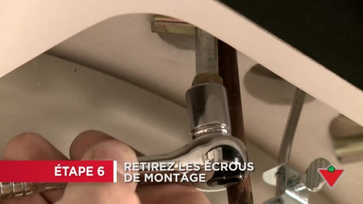 Comment remplacer un robinet - image 4 from the video