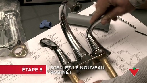 Comment remplacer un robinet - image 5 from the video