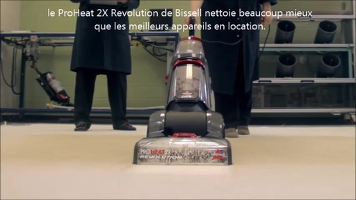 Shampouineuse Bissell Proheat 2x RevolutionMC, moquette et meubles   - image 2 from the video