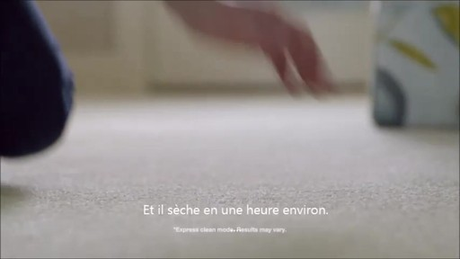 Shampouineuse Bissell Proheat 2x RevolutionMC, moquette et meubles   - image 6 from the video