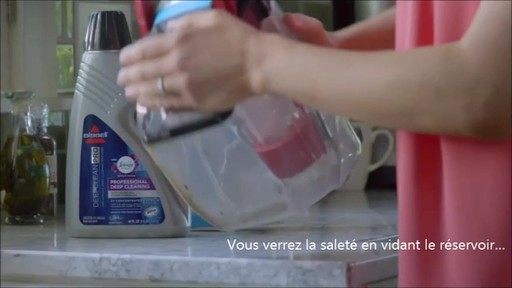 Shampouineuse Bissell Proheat 2x RevolutionMC, moquette et meubles   - image 8 from the video