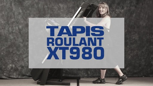 Tapis roulant Xterra XT980 - image 1 from the video