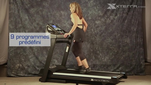 Tapis roulant Xterra XT980 - image 6 from the video