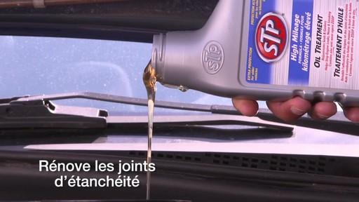 Traitement d'huile kilométrage élevé STP - image 5 from the video