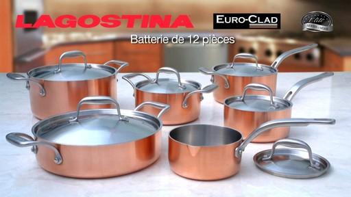 Batterie de cuisine lagostina en cuivre 12 pces cookware ene kitchen - Batterie de cuisine lagostina ...