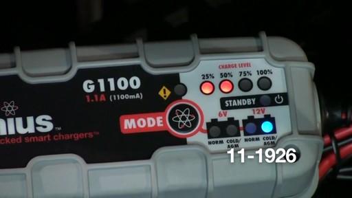 Chargeur de batterie intelligent Noco Genius G1100 - image 7 from the video