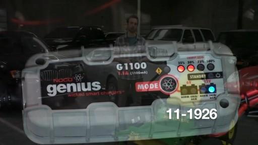 Chargeur de batterie intelligent Noco Genius G1100 - image 8 from the video