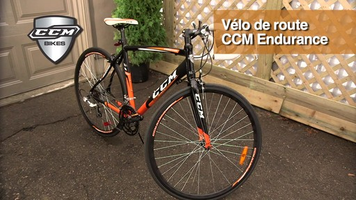 Vélo de route CCM Endurance 700C - image 1 from the video