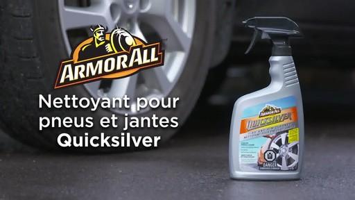 Nettoyant pour pneus et jantes Quicksilver d'Armor All - image 10 from the video