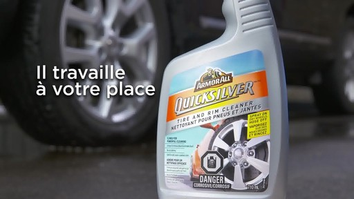 Nettoyant pour pneus et jantes Quicksilver d'Armor All - image 9 from the video