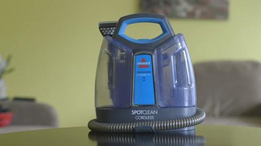 Aspirateur portable sans fil Bissell SpotClean-le témoignage de Greg - image 1 from the video