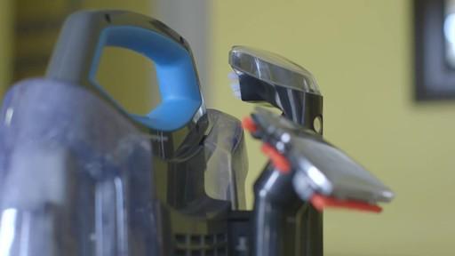 Aspirateur portable sans fil Bissell SpotClean-le témoignage de Greg - image 3 from the video