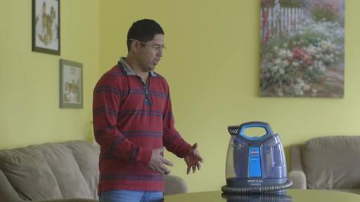 Aspirateur portable sans fil Bissell SpotClean-le témoignage de Greg - image 4 from the video