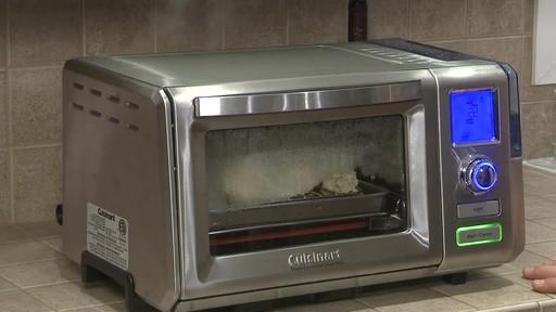 Four grille-pain vapeur et convection Cuisinart - Témoignage d'Eric - image 5 from the video