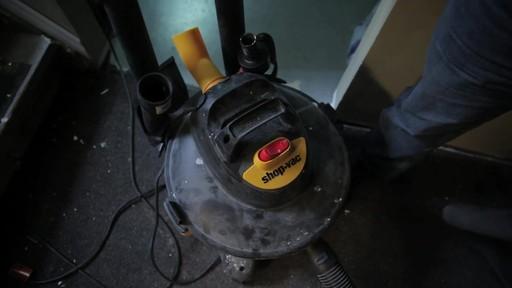 Aspirateur à pompe de déchets secs et humides Shop-VacMD – Témoignage de Rudy - image 1 from the video