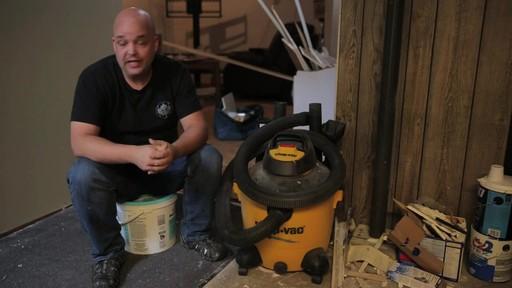 Aspirateur à pompe de déchets secs et humides Shop-VacMD – Témoignage de Rudy - image 2 from the video