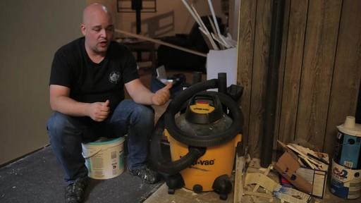 Aspirateur à pompe de déchets secs et humides Shop-VacMD – Témoignage de Rudy - image 4 from the video