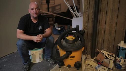 Aspirateur à pompe de déchets secs et humides Shop-VacMD – Témoignage de Rudy - image 5 from the video