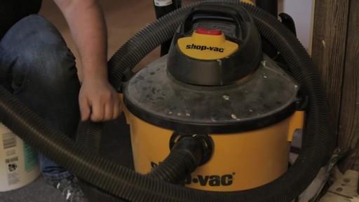 Aspirateur à pompe de déchets secs et humides Shop-VacMD – Témoignage de Rudy - image 7 from the video