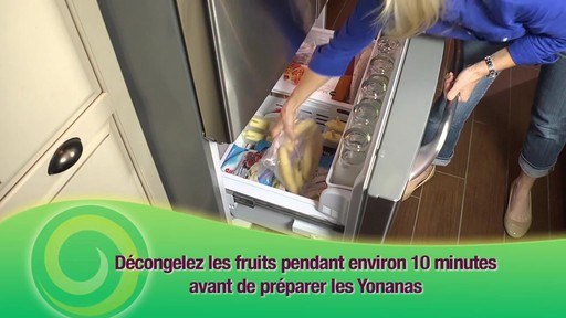 Machine à préparer des collations glacées Yonanas - image 2 from the video