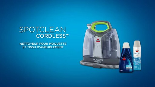 Aspirateur portable sans fil Bissell SpotClean  - image 10 from the video