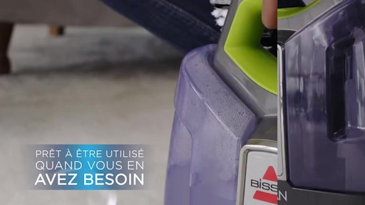 Aspirateur portable sans fil Bissell SpotClean  - image 4 from the video