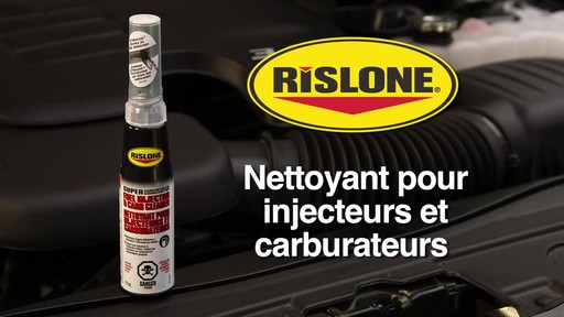 Nettoyant d'injecteur et de carburateur Rislone - image 1 from the video