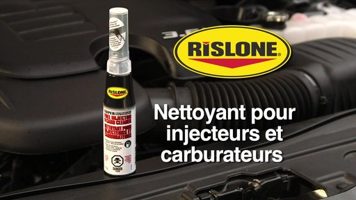 Nettoyant d'injecteur et de carburateur Rislone - image 10 from the video