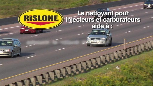 Nettoyant d'injecteur et de carburateur Rislone - image 7 from the video