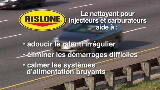 Nettoyant d'injecteur et de carburateur Rislone - image 8 from the video