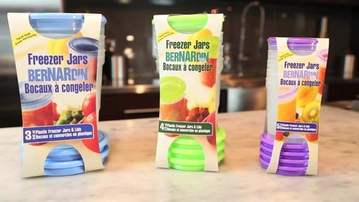 Bernardin bocaux et couvercles en plastic à congeler - image 3 from the video