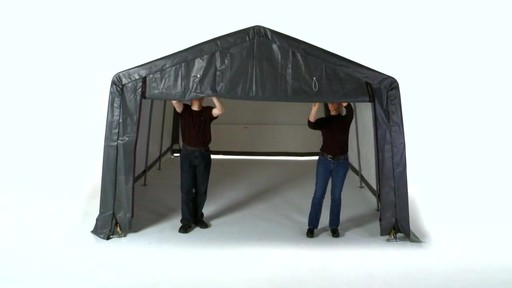 Garage Shelter Logic Garage-in-a-Box - image 10 from the video