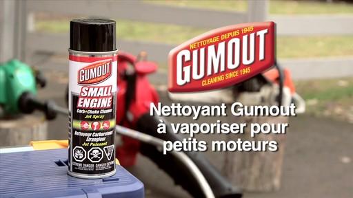 Nettoyant Gumout à vaporiser pour petits moteurs  - image 1 from the video