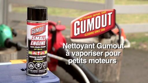 Nettoyant Gumout à vaporiser pour petits moteurs  - image 10 from the video