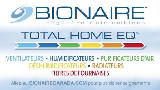 Radiateur céramique en colonne Bionaire, 30 po - image 10 from the video