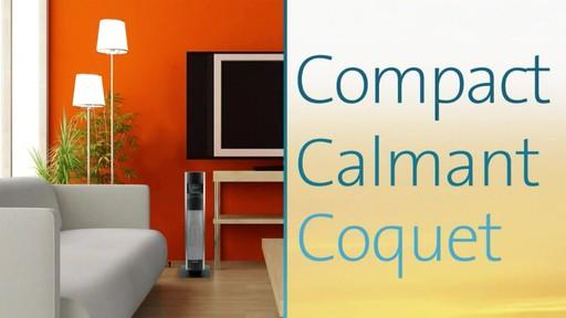 Radiateur céramique en colonne Bionaire, 30 po - image 4 from the video