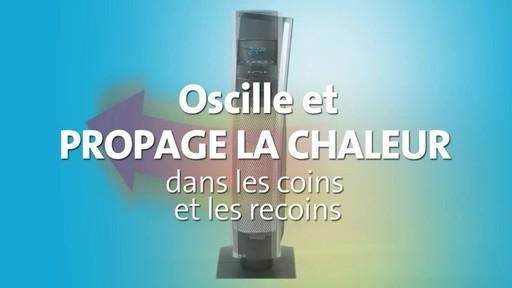 Radiateur céramique en colonne Bionaire, 30 po - image 6 from the video