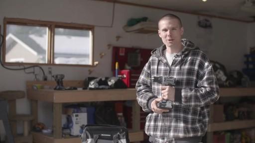 Perceuse MAXIMUM à moteur sans balai de 20 V- le témoignage de Brandon - image 10 from the video