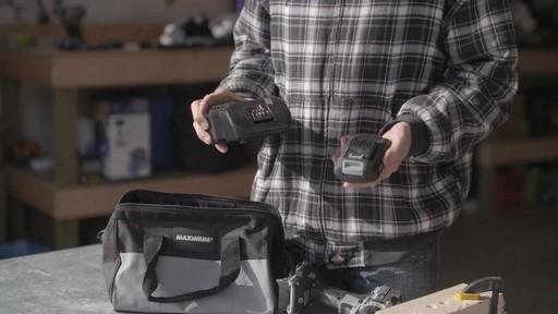 Perceuse MAXIMUM à moteur sans balai de 20 V- le témoignage de Brandon - image 2 from the video