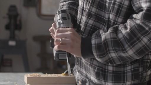 Perceuse MAXIMUM à moteur sans balai de 20 V- le témoignage de Brandon - image 7 from the video
