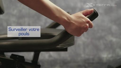Vélo stationnaire incliné Xterra XT451SGR autoalimenté - image 9 from the video