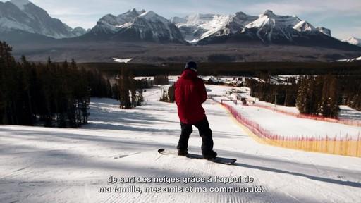 Le planchiste John Leslie raconte son aventure paralympique - image 4 from the video