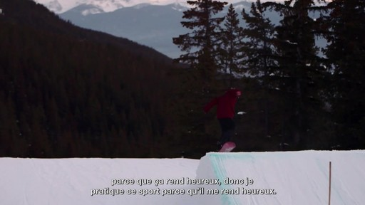 Le planchiste John Leslie raconte son aventure paralympique - image 9 from the video