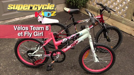 Supercycle Vélos Team 8 et Fly Girl - image 1 from the video