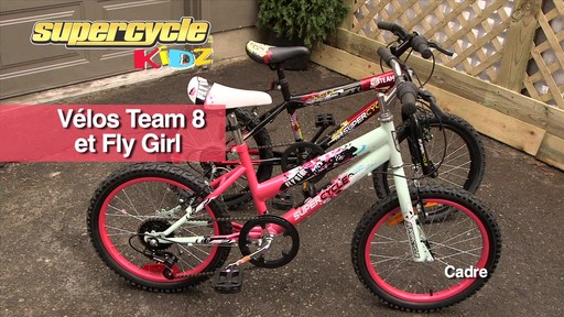 Supercycle Vélos Team 8 et Fly Girl - image 10 from the video