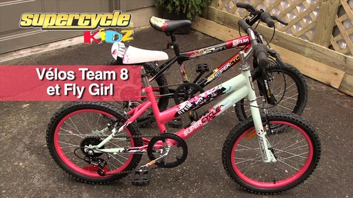Supercycle Vélos Team 8 et Fly Girl - image 9 from the video