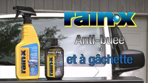 Rain-X anti-buée - image 1 from the video